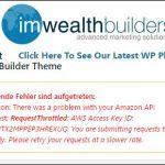 Covert Store Builder Theme – Fehler und Probleme