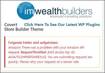 Api Fehler Covert Store Builder Theme