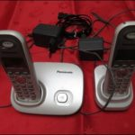 Gebrauchtes Schnurloses Telefon Panasonic KX TG7301G Duo