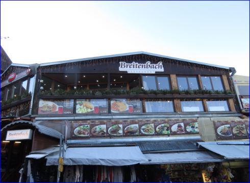 Das Restaurant Breitenbach in Potůčky