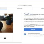 WordPress 1 Click Installation  – Tipps für Anfänger