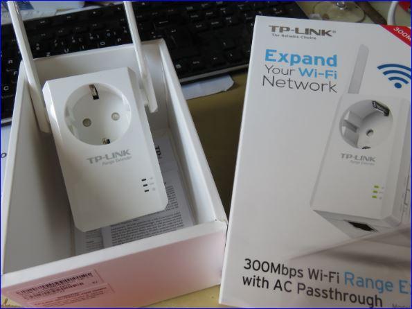 TL-WA860RE Wi-Fi Range Extender TP-Link