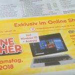 Bei Netto online das Ninetec Ultra Tab 10 Pro Tablet-PC