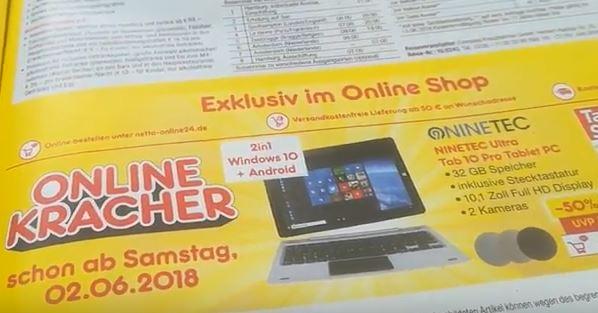 Ninetec Ultra Tab 10 Pro Tablet PC