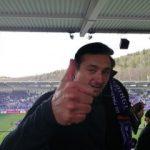 FC Erzgebirge Aue Trainer Daniel Meyer nach dem Spiel gegen Bochum
