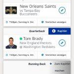 NFL Fantasy Manager meine Tipps Woche 5