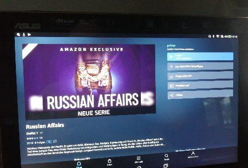 Amazon Serie Russian affairs