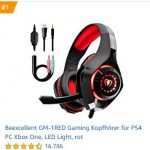 Gaming Headset Top 5 Bestseller – März 2020